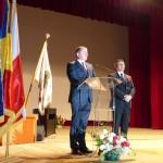 deputatul ghervazen longher alaturi de ambasadorul poloniei