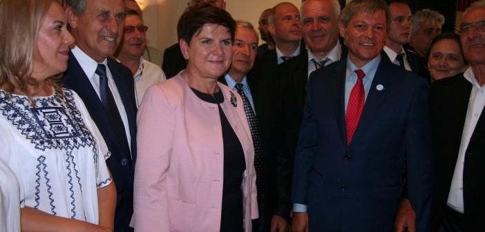Vizita premierului Beata Szydło în România